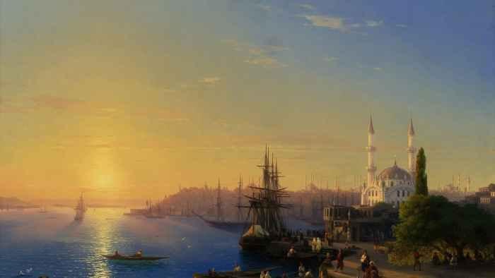 Иван Айвазовский. Вид на Константинополь и Босфор