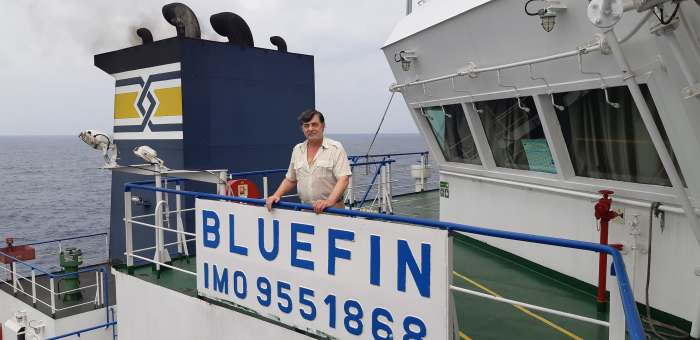 mt BLUEFIN, Gulf of Guinea