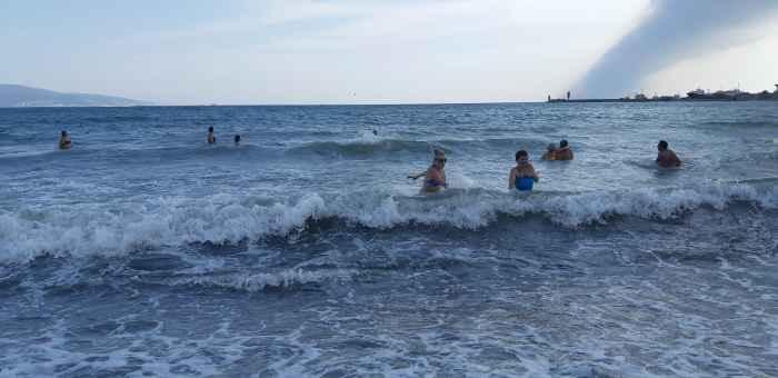 Море в октябре