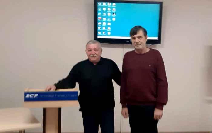 Капитан Никольский и Александр Лебедь