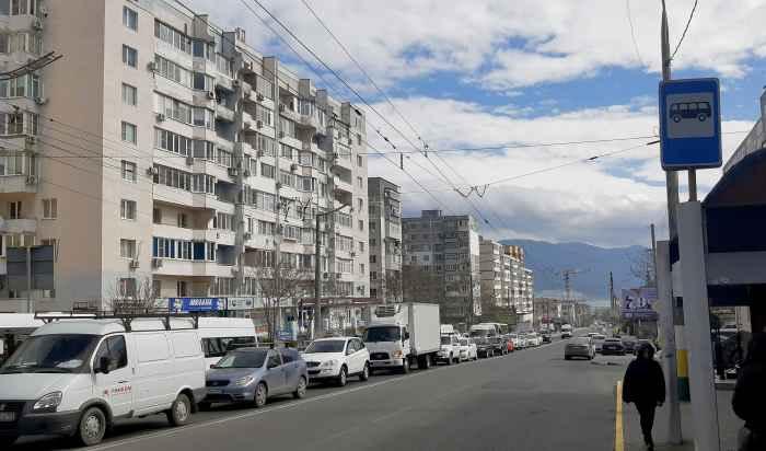 Новороссийск. Улица Куникова. 18 марта 2020.