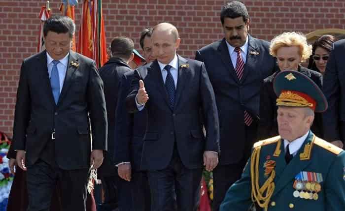 Путин и коллеги