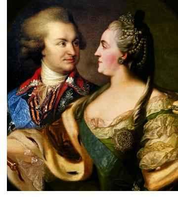 Потёмкин и Екатерина Вторая