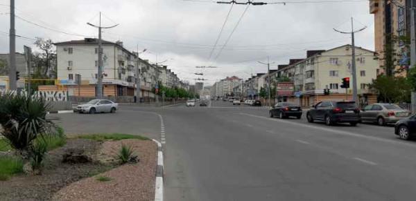 Новороссийск, перекрёсток проспекта Ленина и улицы Куникова