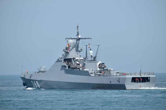 сторожевой корабль проекта 22160