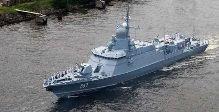 малый ракетный корабль проекта 22800 Каракурт