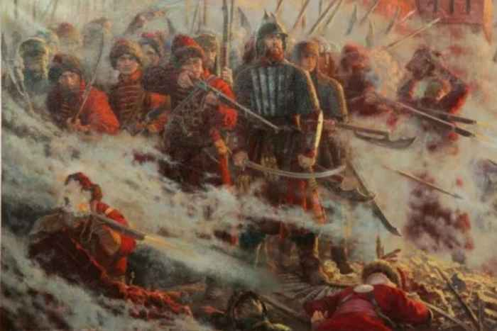 Битва с крымскими татарами