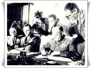 Подписание акта капитуляции Германии