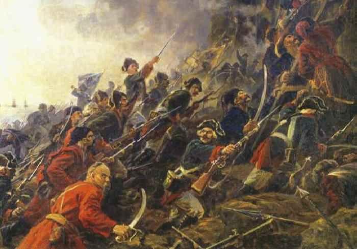 Разгром Запорожской Сечи в 1709 году