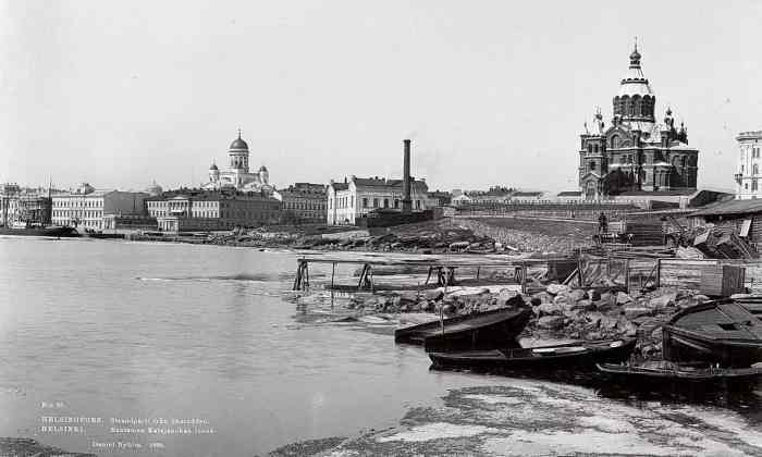 Гельсингфорс в XIX веке