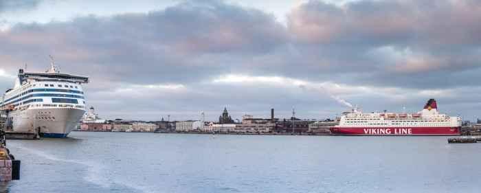 Гавань Хельсинки в наши дни