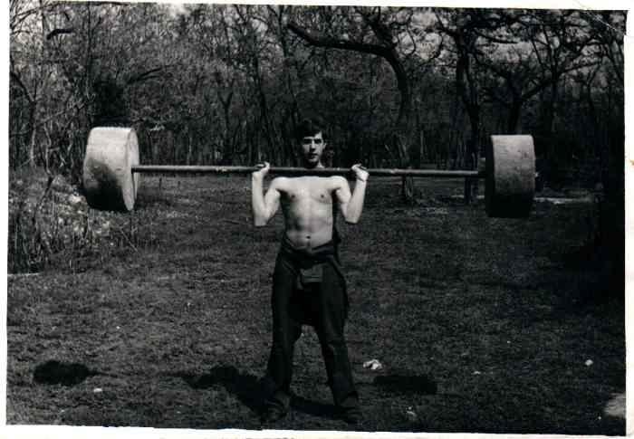 Новороссийск, 1979 год. Тренировка в Пионерской роще