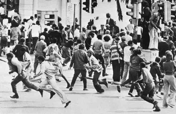 Леон Вайнстайн о ситуации в США Soweto 1976