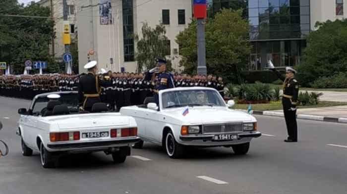 Новороссийск. Парад 24 июня 2020