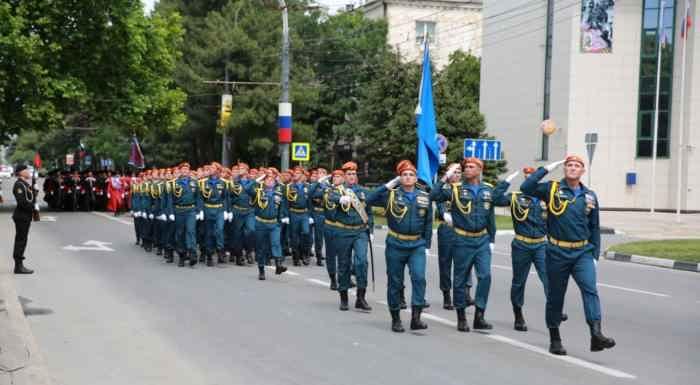 Новороссийск. Подразделение МЧС