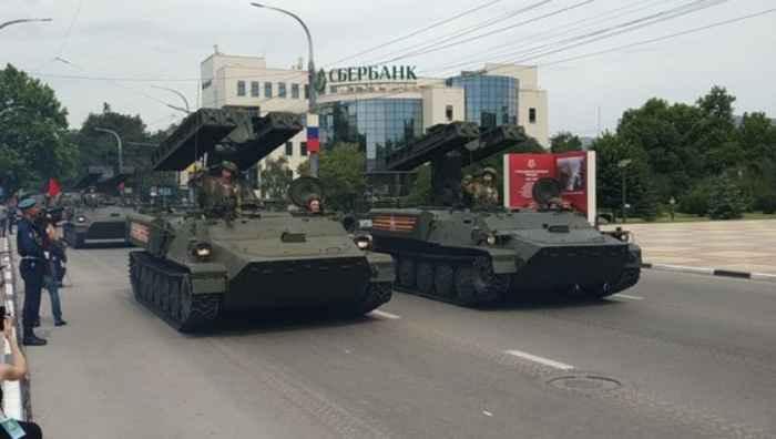 """Новороссийск. Зенитный ракетный комплекс """"Стрела-10М"""""""