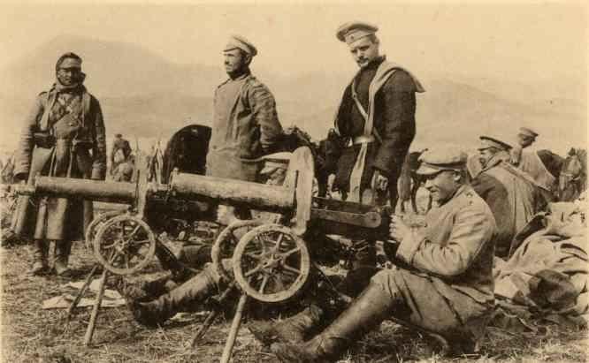 Сарыкамышская операция 1914-1915