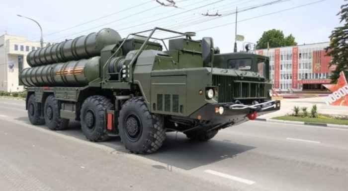 """Новороссийск. Зенитный ракетный комплекс С-400 """"Триумф"""""""