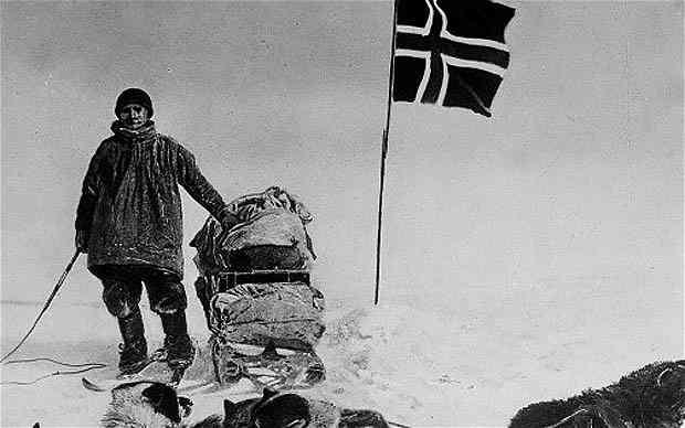 Амундсен Южный полюс