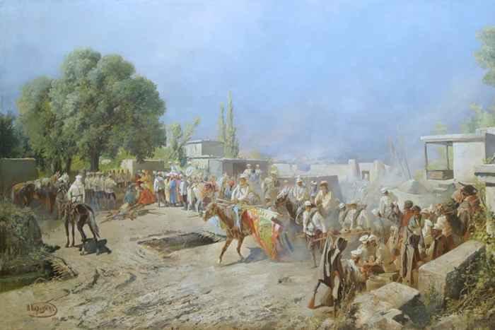 Генерал Черняев в Ташкенте