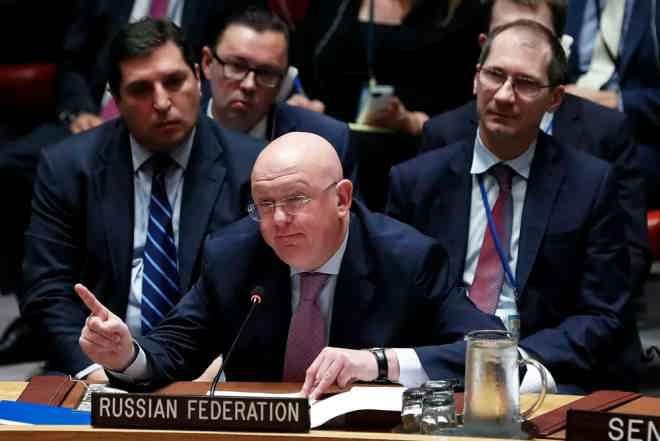 Василий Небензя в ООН