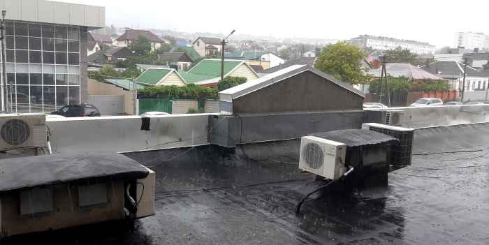 Новороссийск. Дождь