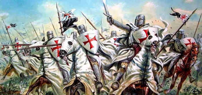 Атака крестоносцев