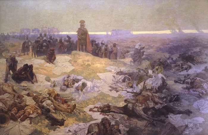 Поле Грюнвальдской битвы
