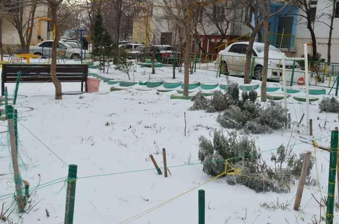 Новороссийск Снег