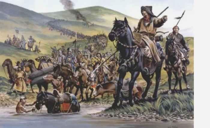 Переправа орды Сагиб-Гирея