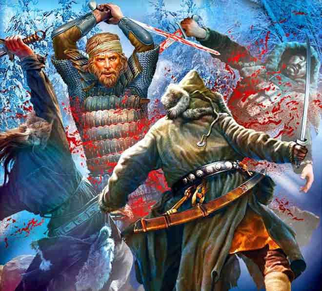 Бой русских с крымчаками