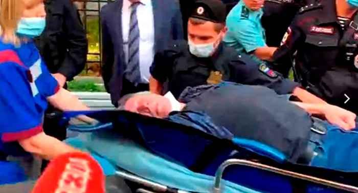 Михаила Ефремова скорая забрала из зала суда
