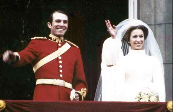 принцесса Анна с мужем