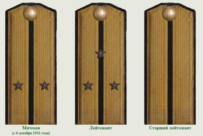 Погоны Императорского флота 3
