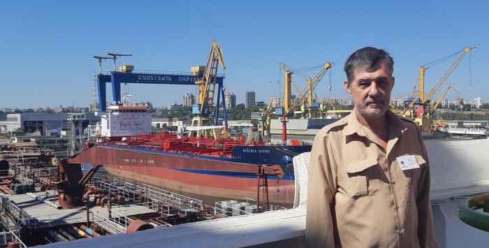 капитан Никольский в Констанце