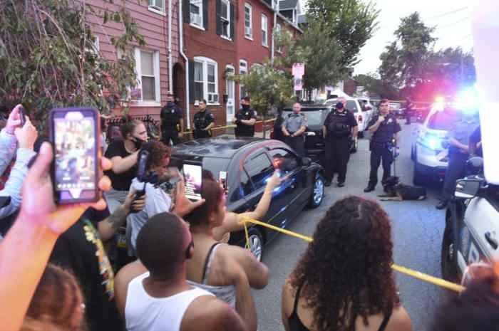 Протесты в Пенсильвании