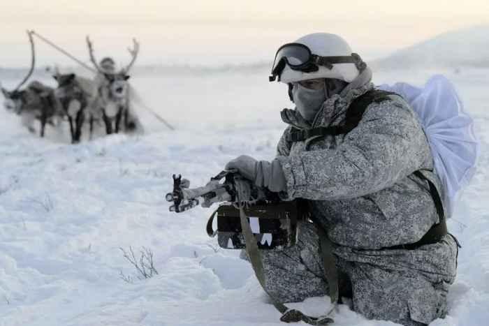 Морская пехота РФ в Арктике