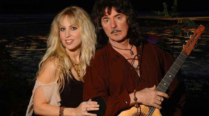 Ritсhie Blackmore and Candice Night