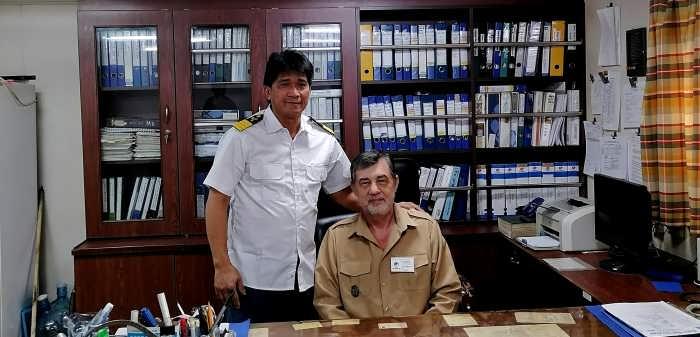 Капитан Никольский и Chief Engineer
