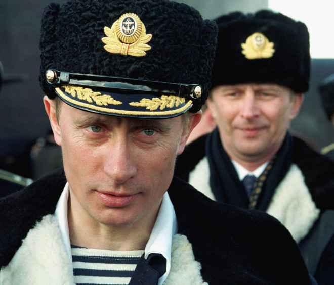 моряк Путин