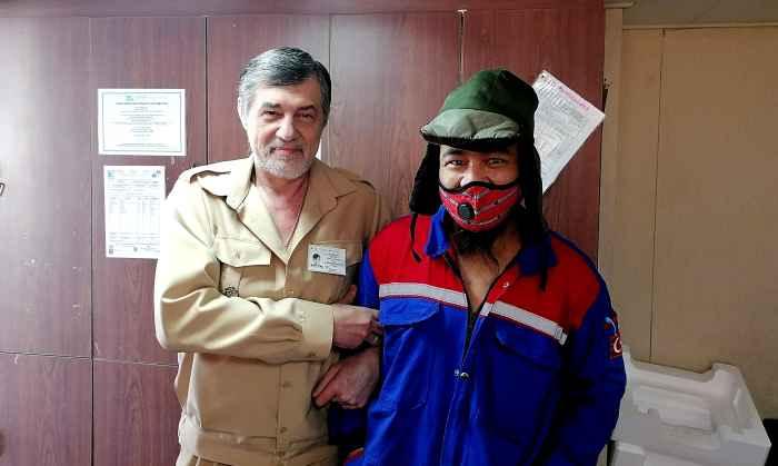 Капитан Никольский и 3-й помощник Чарли