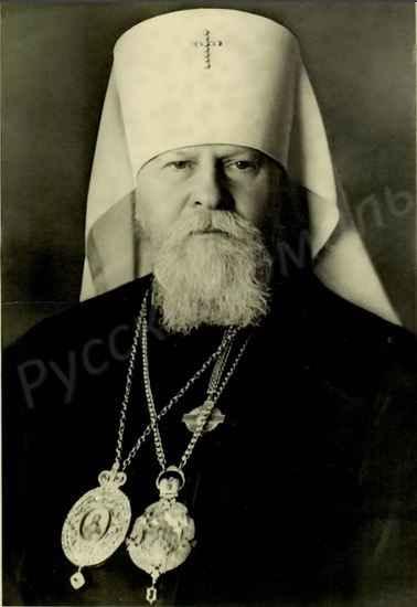 митрополит Крутицкий и Коломенский Николай
