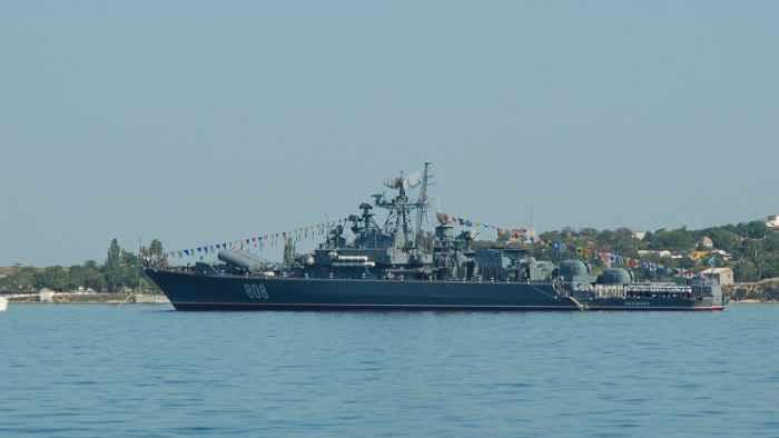 Сторожевой корабль Пытливый проекта 1135М