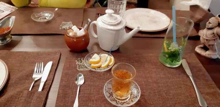Чай в турецких стаканчиках