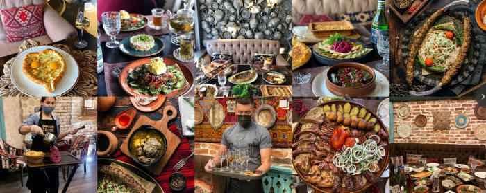 Меню ресторана Кавказский дворик