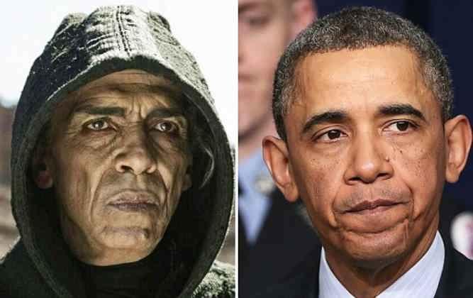 Обама и сатана