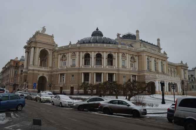 Одесса Оперный театр