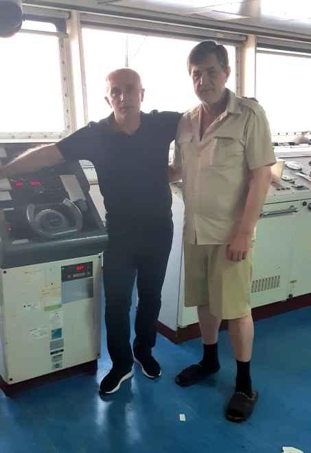 Капитаны Никольский и Малакмадзе