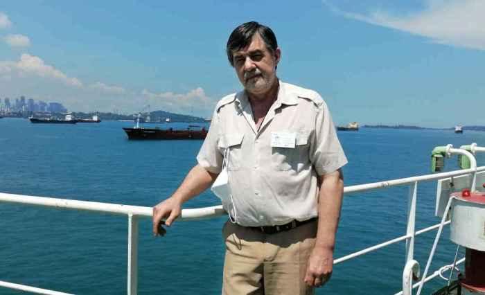 Капитан Никольский, Сингапур 28 марта 2021