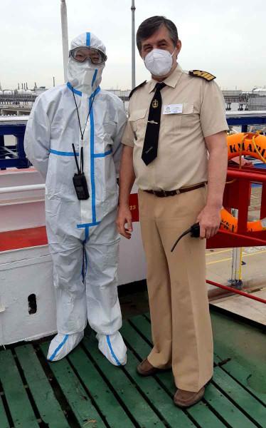 Капитан Никольский и китайский лоцман